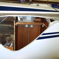 Havarieschaden: Entfernung der beschädigten Rumpf-/Deckteile